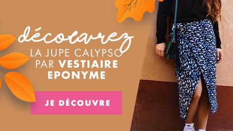 Lancement - Jupe Calypso - Vestiaire Eponyme