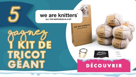 Calendrier de l'avent 2020 Jour 5 We Are Knitters