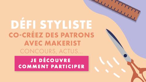 Défi styliste : co-créez des patrons avec Makerist !