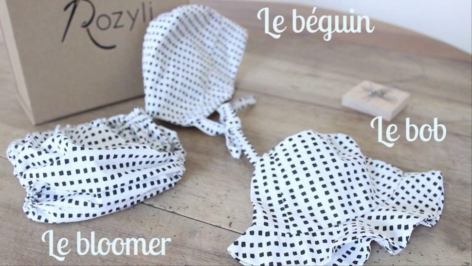 Cours-projet - Coudre un bloomer, un bob et un béguin  - Cours chez Makerist - Image 1