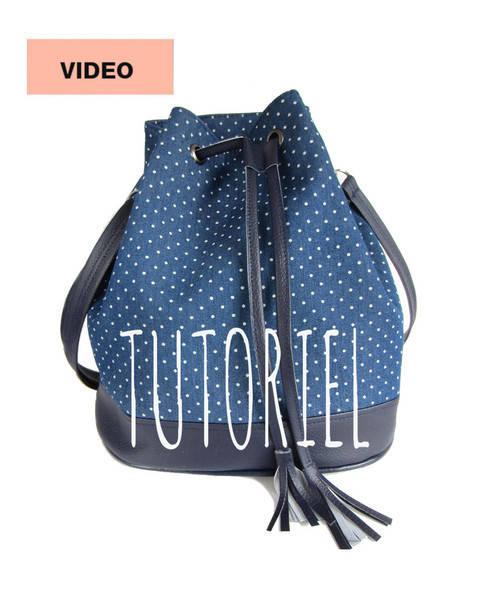 Cours-projet - Le sac seau Louise - Cours chez Makerist