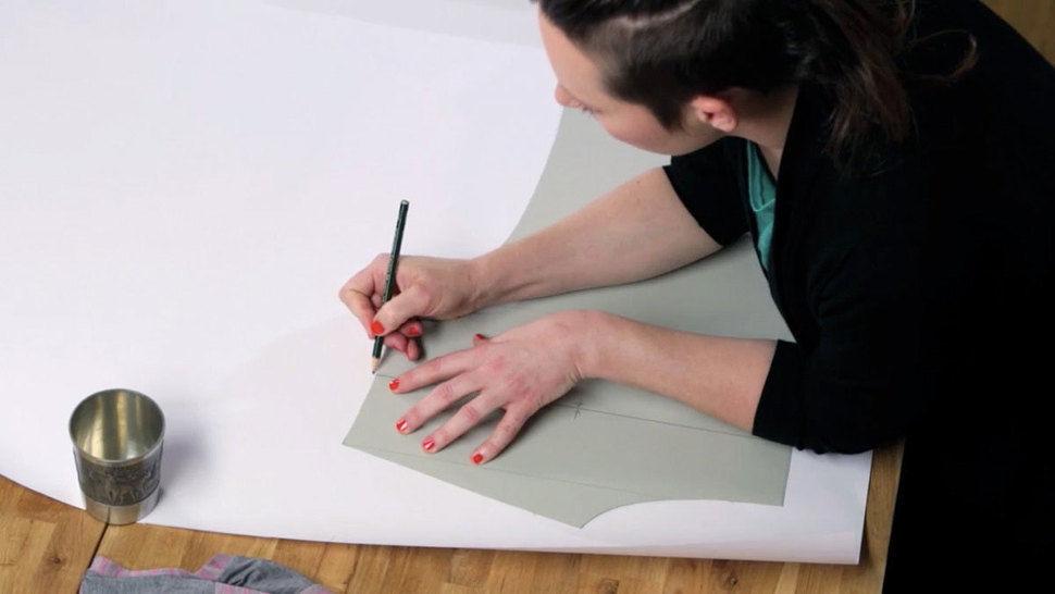 Cours de patronnage - créez le patron de couture de votre tee-shirt préféré - Cours chez Makerist - Image 1