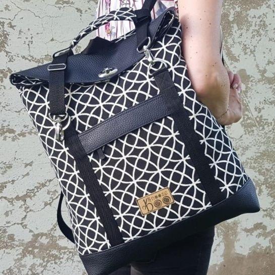 ** NEU ** Vario-Tasche Mimi mit E-Book & Sew-along Videoanleitung - Makerist Videokurs - Bild 1