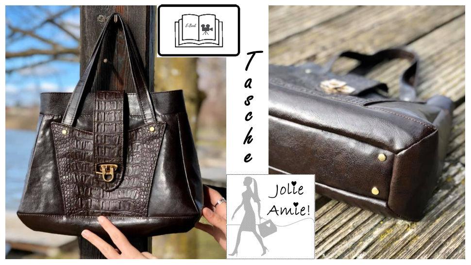 "** NEU **  Nähanleitung Handtasche ""Jolie Amie"" - Makerist Videokurs - Bild 1"