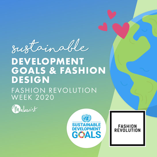 Webinar - Sustainable Development Goals and Fashion Design  - Makerist Course - Image 1