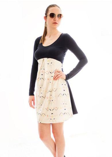 Gedrucktes Schnittmuster für: Valery - variantenreiches Kleid für Damen im Makerist Materialshop - Bild 1
