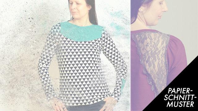 Gedrucktes Schnittmuster für: Shirt Kleid auch Stillshirt TAIPA Gr. 34 - 50 im Makerist Materialshop - Bild 1