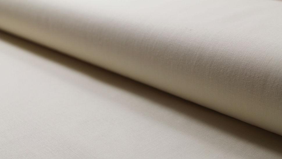 Crétonne toile de coton unie écru : Lande - 150 cm dans la mercerie Makerist - Image 1