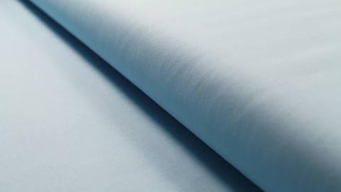 Baumwollstoff hellblau uni: Heide - 150 cm im Makerist Materialshop