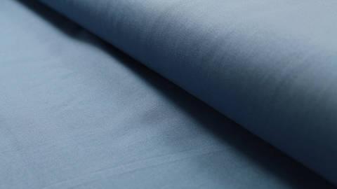 Baumwollstoff rauchblau uni: Heide - 150 cm im Makerist Materialshop
