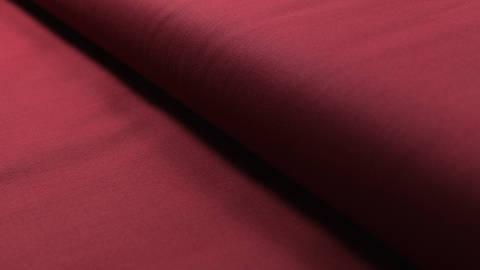 Baumwollstoff burgundy uni: Heide - 150 cm im Makerist Materialshop