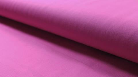 Crétonne toile de coton unie rose fuschia : Lande - 150 cm dans la mercerie Makerist