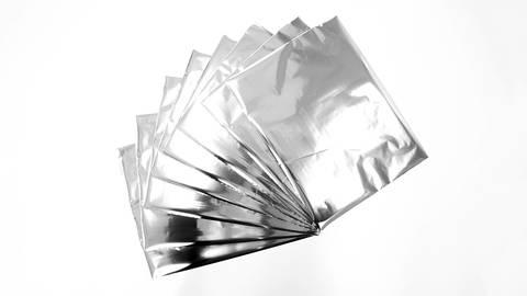 Textil Metallfolie LUXOR®/ALUFIN® TX-N - silber im Makerist Materialshop
