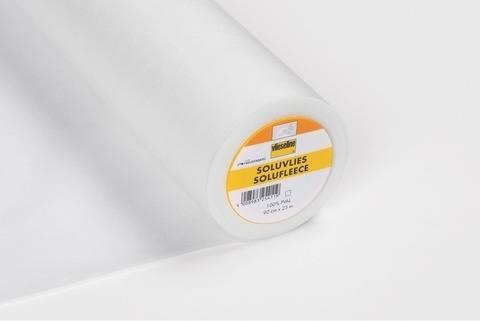 Vlieseline wasserlöslich weiß: Soluvlies - 90 cm im Makerist Materialshop