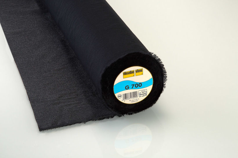 Vlieseline Gewebeeinlage schwarz G700 fixierbar - 90 cm im Makerist Materialshop - Bild 1