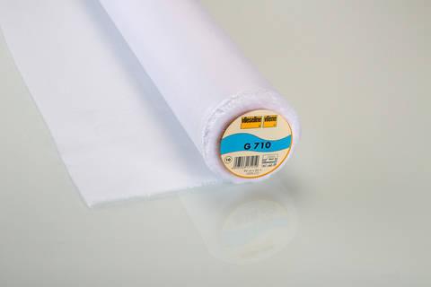 Vlieseline Gewebeeinlage weiß: G710 fixierbar - 90 cm im Makerist Materialshop