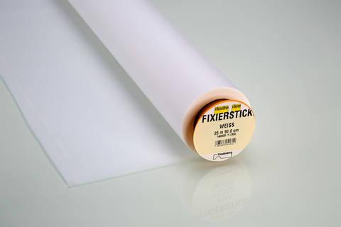 Vlieseline Fixier-Stickvlies weiß: fixierbar - 90 cm im Makerist Materialshop