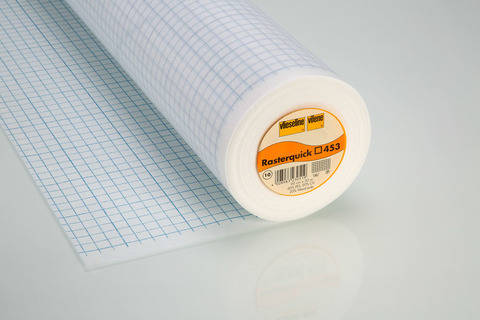 Vlieseline Rasterquick Viereck für Patchwork zum Einnähen weiß - 90 cm im Makerist Materialshop
