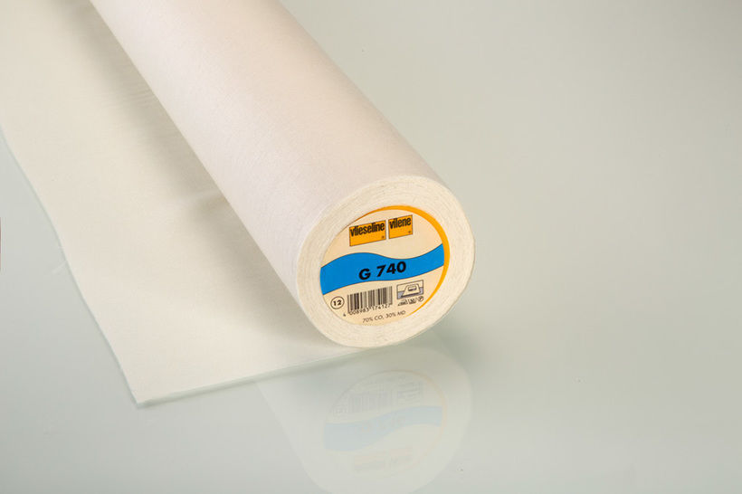 Vlieseline Gewebeeinlage ecru: G740 fixierbar - 90 cm im Makerist Materialshop - Bild 1