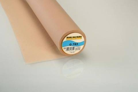 Vlieseline Gewebeeinlage hautfarben: G785 fixierbar - 90 cm im Makerist Materialshop
