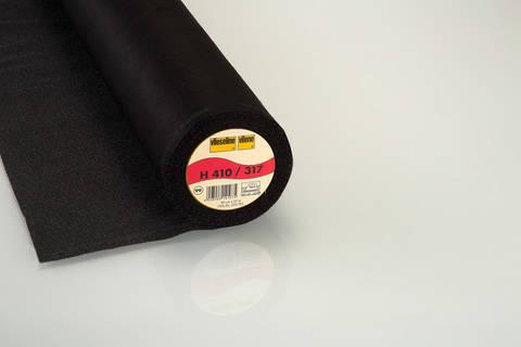 Vlieseline Bügeleinlage schwarz: Softline H410 fixierbar - 90 cm im Makerist Materialshop