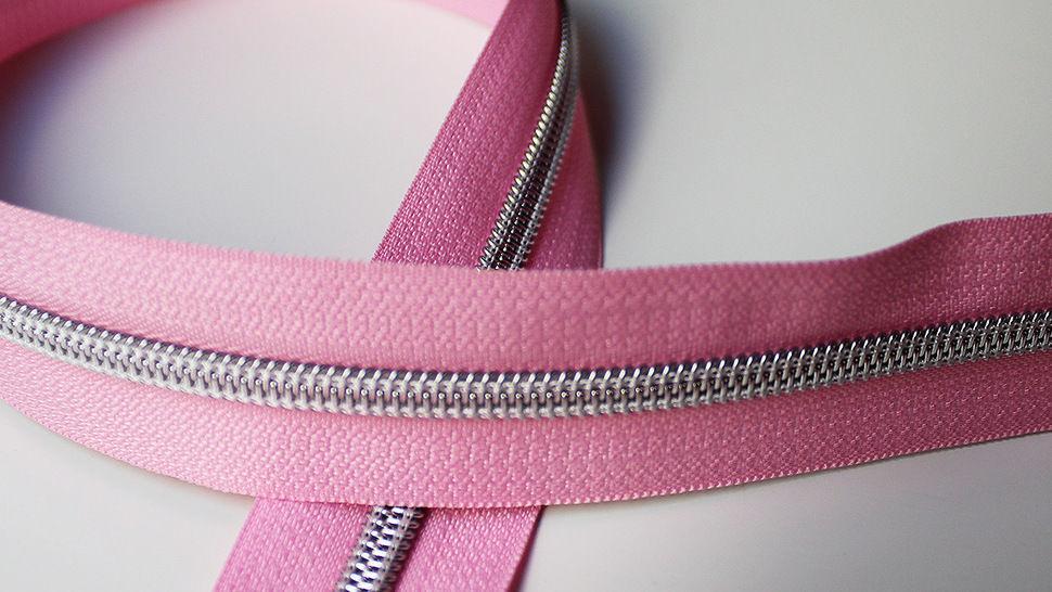 Fermeture à glissière rose : argent dans la mercerie Makerist - Image 1