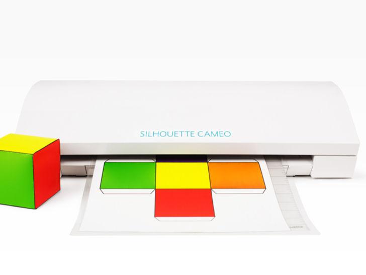 Weißer Plotter - SILHOUETTE CAMEO 3 im Makerist Materialshop - Bild 1