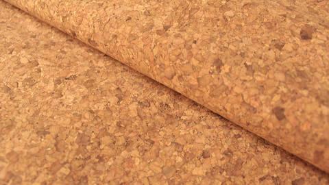 Braun marmorierte Korkfolie Naturprodukt: Kork - 100 cm im Makerist Materialshop
