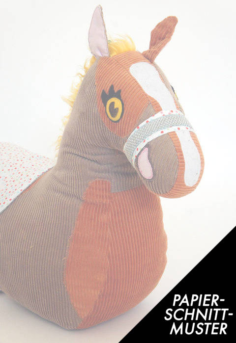 Gedrucktes Schnittmuster für:  Reittier Pferd  im Makerist Materialshop