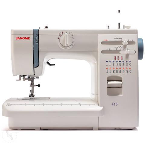 Nähmaschine Janome Modell 415 im Makerist Materialshop