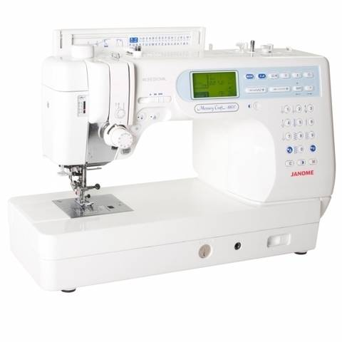 Nähmaschine Janome Memory Craft 6600 im Makerist Materialshop
