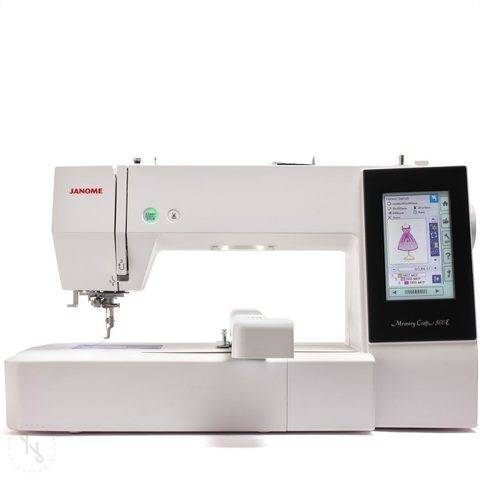 Stickmaschine Janome Memory Craft 500 E im Makerist Materialshop