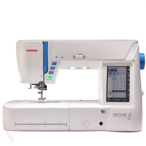 Stickmaschine Janome Skyline S9 im Makerist Materialshop