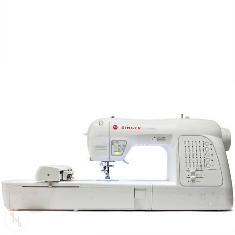 Stickmaschine Singer Futura XL-420 im Makerist Materialshop