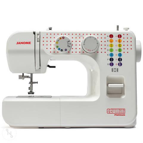 Nähmaschine Janome SewMini Platinum im Makerist Materialshop