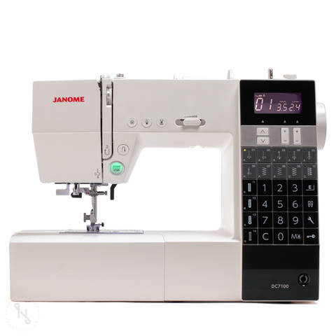 Nähmaschine Janome DC 7100 im Makerist Materialshop