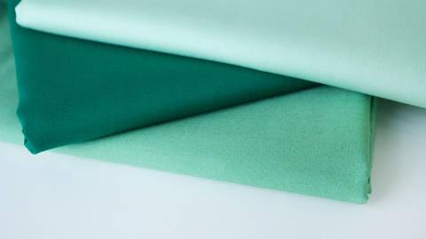 3er Unikombi Stoff-Set: Heide grün - 50 cm im Makerist Materialshop