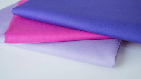 3er Unikombi Stoff-Set: Heide lila - 50 cm im Makerist Materialshop