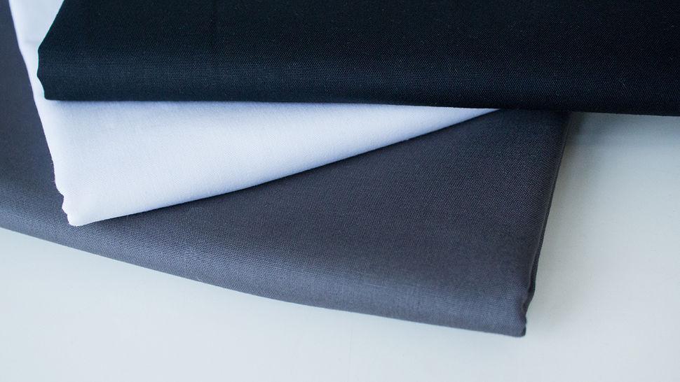 3er Unikombi Stoff-Set: Heide grau - 50 cm im Makerist Materialshop - Bild 1