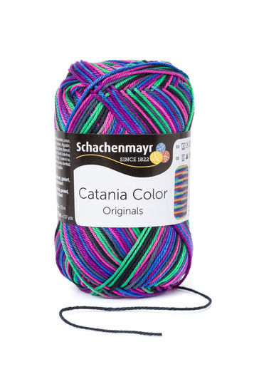 Catania Color von Schachenmayr - 00215 sporty im Makerist Materialshop - Bild 1