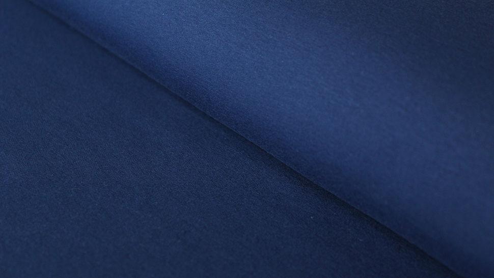 Sweatstoff dunkelblau: Eike - 155 cm im Makerist Materialshop - Bild 1