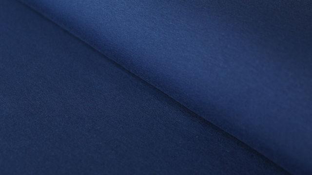 Tissu en sweat bleu foncé : Eike 155 cm dans la mercerie Makerist - Image 1