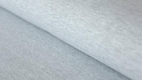 Sweatstoff hellgrau meliert: Eike - 155 cm im Makerist Materialshop