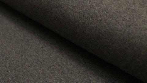 Sweatstoff dunkelgrau meliert: Eike - 155 cm im Makerist Materialshop
