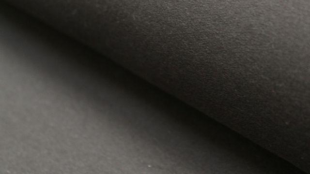 Bündchenstoff schwarz: Heike - 100 cm im Makerist Materialshop - Bild 1