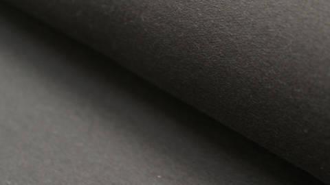 Bündchenstoff schwarz: Heike - 100 cm im Makerist Materialshop