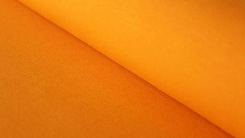 Bündchenstoff orange: Heike - 100 cm im Makerist Materialshop