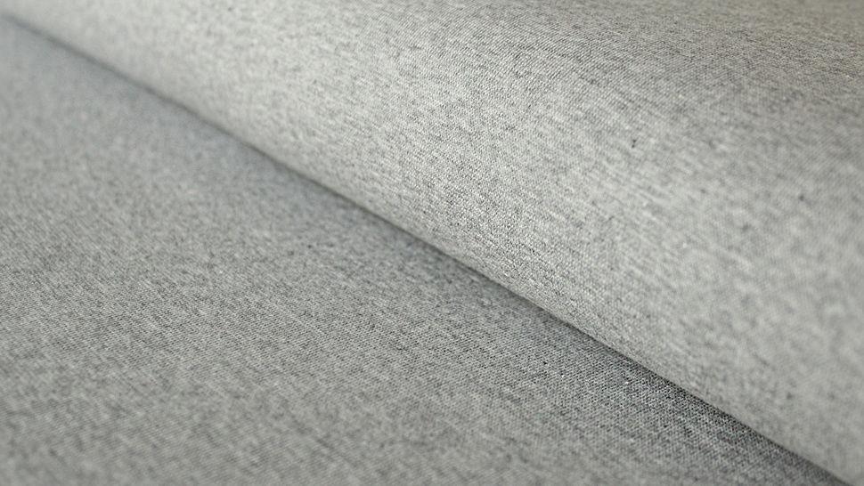 Tissu manchette gris clair chiné Heike - 100 cm dans la mercerie Makerist - Image 1