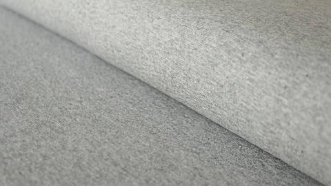 Tissu manchette gris clair chiné Heike - 100 cm dans la mercerie Makerist