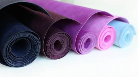 """Farbpaket """"Fliederfarben"""": Waschbares Papier von kulörtexx im Makerist Materialshop"""